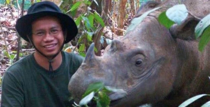 Marcellus Adi Riyanto: The Indonesian vet who lived for the Sumatran rhino